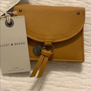 Lucky brand mini leather bag - brand new!